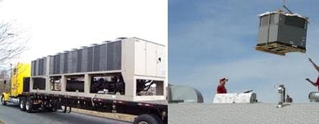 Locação de unidades condicionadoras